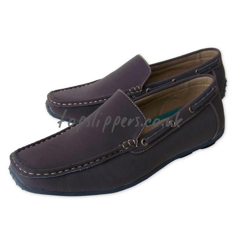 MEN > Brown Moccasins Shoes SALE